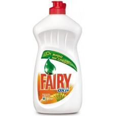 Fairy Oxy чистящее средство для мытья посуды апельсин и лимонник 500МЛ, арт. 3009042