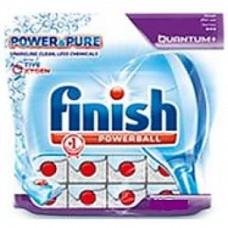 Finish Quantum чистящее средство для посудомоечных машин таблетки PowerBall Power&Pure 20ШТ, арт. 3067334