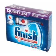 Finish Quantum чистящее средство для посудомоечных машин таблетки 20ШТ, арт. 3010268
