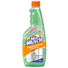 Mr Muscle чистящее средство для стекол и других поверхностей со спиртом сменный блок 500МЛ, арт. 3010989