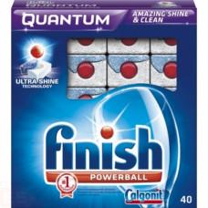 Finish Quantum чистящее средство для посудомоечных машин таблетки 40ШТ, арт. 3010269