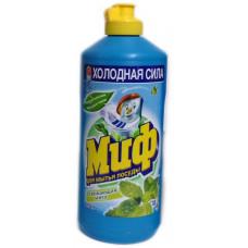 Миф чистящее средство для мытья посуды освежающая мята 500МЛ (2 шт/упак), арт. 3009850