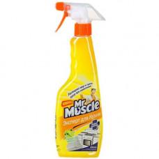 Mr Muscle Триггер чистящее средство для кухонных поверхностей свежесть лимона 450МЛ, арт. 3011015