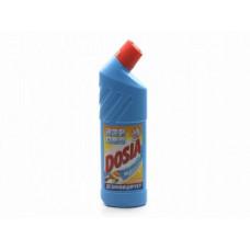 Dosia чистящее средство для сантехники гель Морской с дезинфекцией и отбеливанием Эффектом 750МЛ (4 шт/упак), арт. 3042398