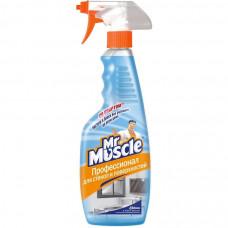 Mr Muscle Триггер чистящее средство для стекол и других поверхностей со спиртом 500МЛ, арт. 3011030