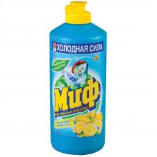 Миф чистящее средство для мытья посуды свежесть цитруса 500МЛ (2 шт/упак), арт. 3009853
