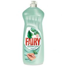 Fairy Oxy чистящее средство для мытья посуды нежные руки ч.дерево и мята 900мл, арт. 3009035
