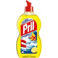 Pril Power чистящее средство для мытья посуды гель лимон 450МЛ, арт. 3043684