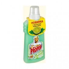 Mr.Proper чистящее средство универсальное жидкое лайм и мята 500МЛ, арт. 3009224