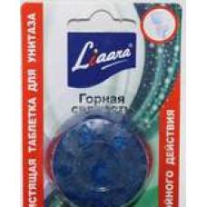 Liaara Табс чистящее средство для унитазов таблетки для сливного бачка горная свежесть 2*50, арт. 3020255