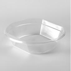 Тарелка одноразовая 500 мл суповая прозрачная (50 шт/уп)