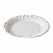 Тарелка одноразовая 170 мм картон (100 шт/уп)