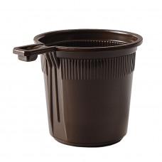 Чашка одноразовая 200 мл кофейная ФОПОС (50 шт/уп)