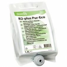 Room Care R2-plus Pur-Eco / Универсальное ср-во для твердых, влагостойких поверхностей, концентрат (экомаркировка)  (2 шт/упак), арт. 100861979