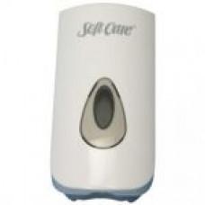 Bulk Soap Dispenser White 0.9L / Диспенсер непрозрачный  0.9 л для жидкого мыла SC Star, арт. 7513851