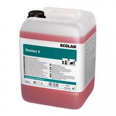 NEOMAX A сильнощелочное низкопенное моющее средство для промышленных объектов, 10л, арт. 3003420