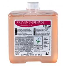 PREVENS PARIS GRENADE — Превенс Пари Гренейд люкс шампунь для тела и волос, 0,22л (20 шт/упак), арт. 9055770