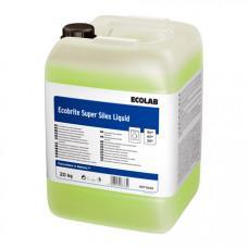 ECOBRITE SUPER SILEX LIQUID жидкое комплексное средство с энзимами для стирки, 20 кг, арт. 9077640