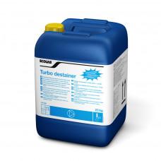 TURBO DESTAINER жидкий хлорсодержащий отбеливатель, 23кг, арт. 1017690