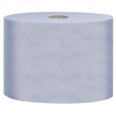 Материал протирочный в рулонах FOCUS Jumbo, 2 слоя, 24*35 см, 350 м, 1000 листов, голубой, арт. 5043342