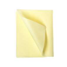 Салфетка MICRO LIGHT нетканная микроволоконная 40*40см, 60 гр/м², 10 шт., желтая