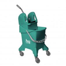 Ведро на колесах с универсальным отжимом, зеленое, 31 л HQ Profiline