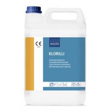 Сильнощелочное средство для дезинфекции и очистки поверхностей на основе хлорамина Т, KLORILLI , 5 л (3 шт/упак), арт. 8110