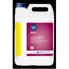 Слабощелочное средство для очистки и удаления пятен с текстильных и ковровых покрытий, KIILTO JIFFY, 5 л (3 шт/упак), арт. T7406.005