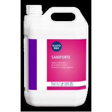 Кислое моющее средство для удаления ржавчины и известковых отложений с сантехники, KIILTO SANIFORTE, 5 л  (3 шт/упак), арт. 205227