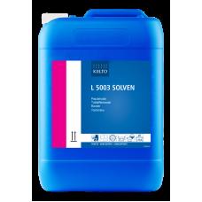 Усилитель стирки для сильнозагрязненной рабочей одежды и ковров на основе растворителя, L 5003 SOLVEN, 10 л, арт. 60140