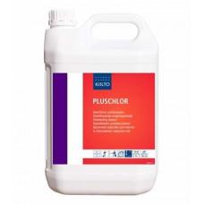 Щелочное средство для очистки, дезинфекции и отбеливания поверхностей на основе гипохлорита натрия, KIILTO PLUSCHLOR, 5 л (3 шт/упак), арт. 205174