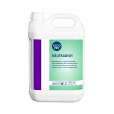 Концентрированное нейтральное  жидкое моющее средство для посуды, KIILTO NEUTRADISH, 5 л (3 шт/упак), арт. 205040