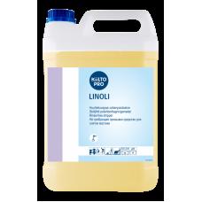 Слабощелочное средство для удаления мастики с натурального  линолеума, KIILTO LINOLI, 5 л (3 шт/упак), арт. T7048.005