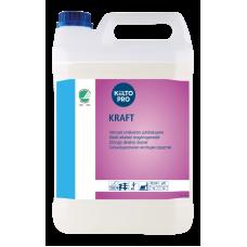 Щелочное средство для удаления жирных загрязнений, KIILTO KRAFT, 5 л (3 шт/упак), арт. 63246