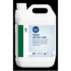 Слабощелочное средство для всех водостойких поверхностей, с запахом лайма, KIILTO VIENO AKTIIVI LIME, 5 л (3 шт/упак), арт. 205186