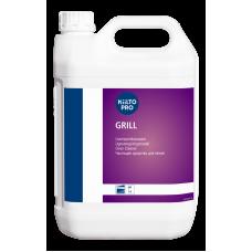 Сильнощелочное средство для очистки стальных поверхностей грилей и духовок, KIILTO GRILL, 5 л (3 шт/упак), арт. 205043