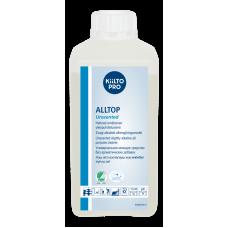 Cлабощелочное универсальное моющее средство без запаха, гипоаллергенное., KIILTO ALLTOP Unscented, 1 л  (12 шт/упак), арт. 205171