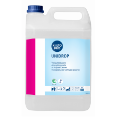Сильноконцентрированное слабощелочное универсальное моющее средство, KIILTO UNIDROP, 5 л (3 шт/упак), арт. 41124
