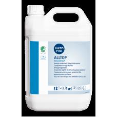 Cлабощелочное универсальное моющее средство без запаха, гипоаллергенное., KIILTO ALLTOP Unscented, 5 л  (3 шт/упак), арт. 205172