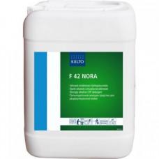 F 42 NORA (Ф 42 НОРА) — Сильнощелочное моющее средство для рециркуляционной мойки pH 14,0, 10 л, арт. 205101