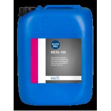 META 100 (МЕТА 100) — Промышленное средство для удаления ржавчины и окаменений pH 0,5, 20 л, арт. 423075