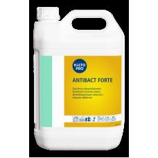 Дезинфицирующее средство с моющим эффектом для кухонных поверхностей. Дезинфицирующий компонент - ЧАСы, KIILTO ANTIBACT FORTE, 5 л (3 шт/упак), арт. 205133
