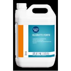 Дезинфицирующее средство для обработки скорлупы яиц, KIILTO KLORIITTI FORTE, 5 л (3 шт/упак), арт. 205157
