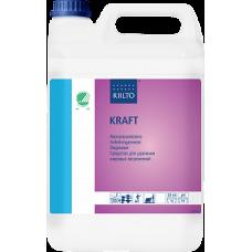 Щелочное средство для удаления жирных загрязнений, KIILTO KRAFT, 5 л (3 шт/упак), арт. 63099