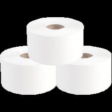 Туалетная бумага в рулонах, диаметр втулки 6 см, 1 слой, 480 м, серый (6 шт/упак), арт. 10.480