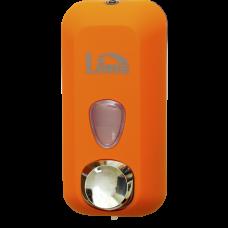 Диспенсеры для жидкого мыла Lime объем 0,55 л, оранжевый (покрытие Soft touch), арт. A71401ARS