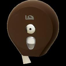 Диспенсер для туалетной бумаги в рулонах до 200 м, коричневый (покрытие Soft touch), арт. A75610MAS