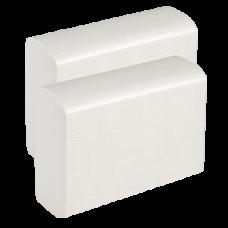 Бумажные полотенца z-сложения, 2 слоя, размер 21,5*23 см, 180 листов, белый (Z-сложение) (20 шт/упак), арт. 230180