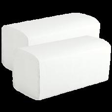Бумажные полотенца V-сложения , размер 22.5*22.5 см, 250 листов, 1 слой, белый (V / ZZ-сложение) (20 шт/упак), арт. 210450