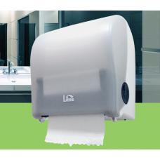 Диспенсер для полотенец в рулонах LIME MATIC Compact белый, арт. 15115